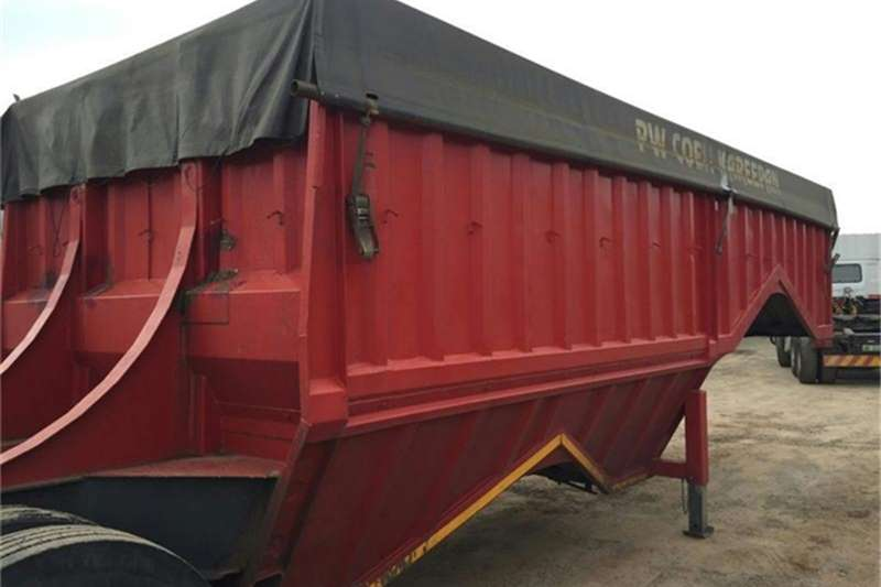 Afrit Link Bottom Dumper Trailers