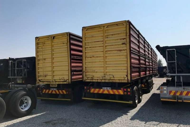 Afrit Mass side Interlink Mass Side Trailer Trailers