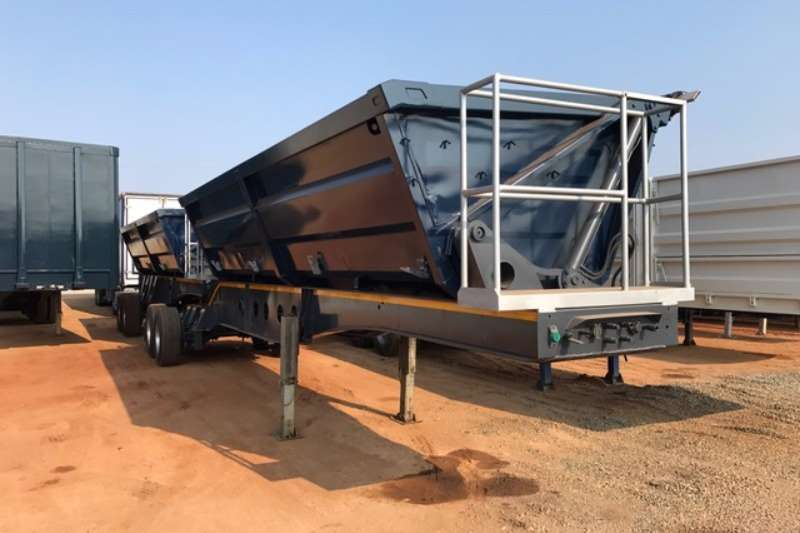 Trailers Afrit Side Tipper 1 x 35cube Interlink Side Tipper Trailers 2010