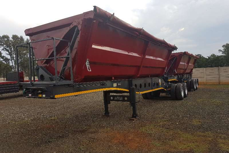 Trailers Afrit Side Tipper 40m 2011