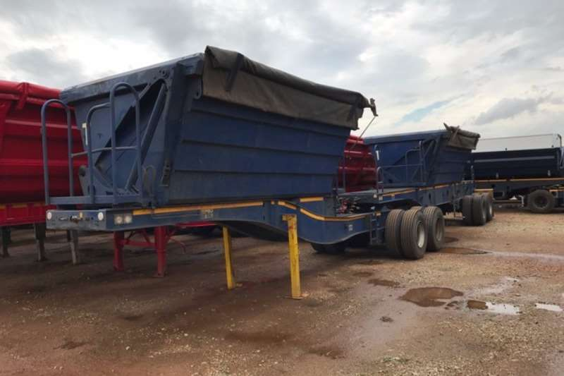 Afrit Side tipper Afrit 20 cube Interlink Side Tipper Trailers