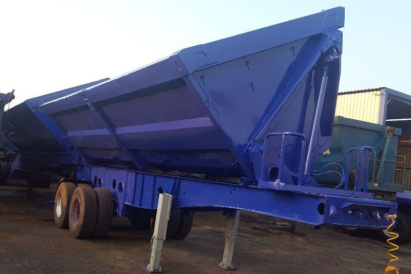 Trailers Afrit Side Tipper AFRIT INTERLINK SIDETIPPER 45 CUBE 0