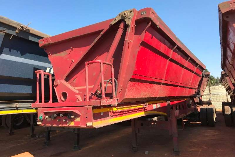 Trailers Afrit Side Tipper Afrit Link Side Tippers 40m3 2012