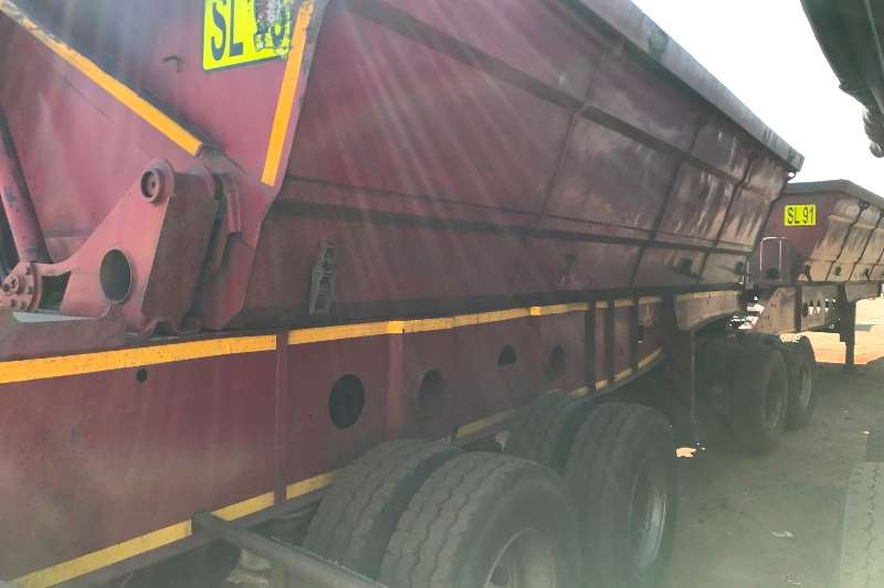 Afrit Side tipper Afrit Link Side Tippers 40m3 Trailers