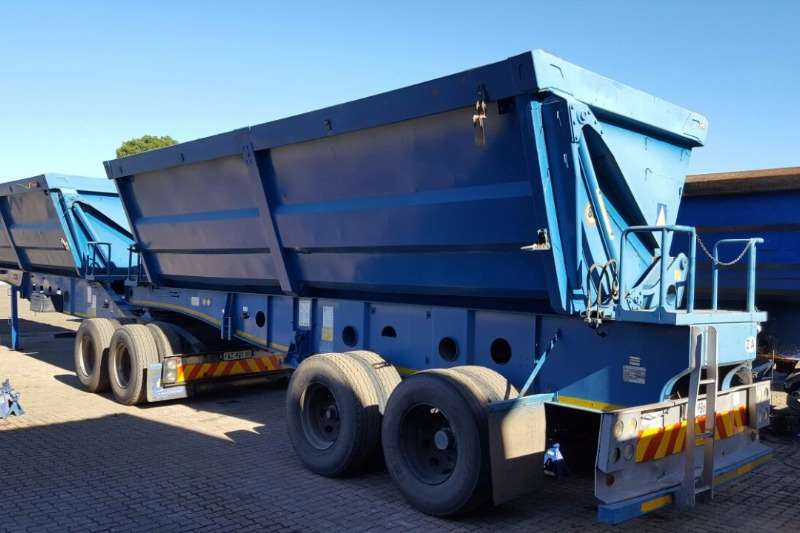 Trailers Afrit Side Tipper AFRIT SIDE TIIPPER 45 CUBE 2008