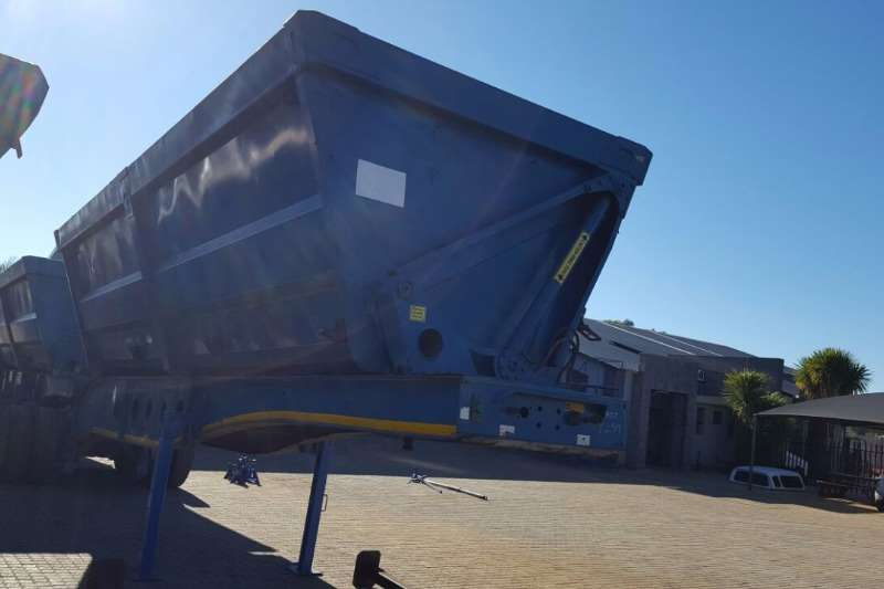 Afrit Side tipper AFRIT SIDE TIIPPER 45 CUBE Trailers