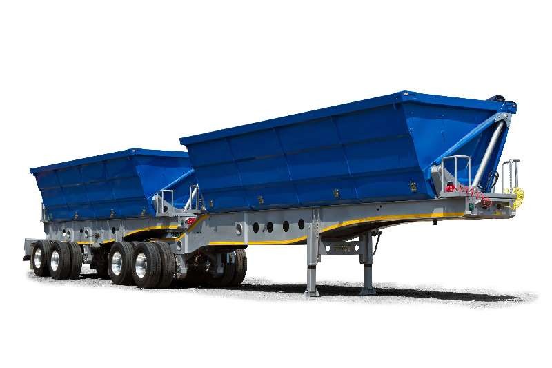 Afrit Side tipper For Rent Trailers