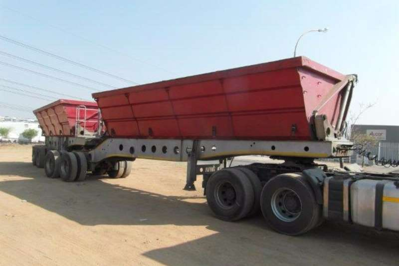 Trailers Afrit Side Tipper Interlink Side Tipper Trailer 2013