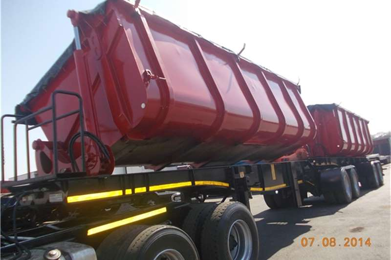 Afrit Side tipper sidetipper trailers  Trailers