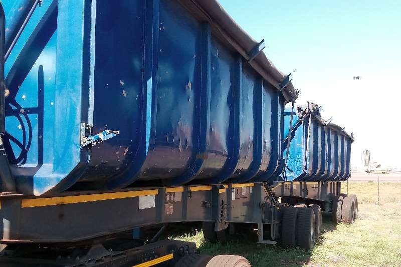 Afrit Side tipper TOP TRAILERS SIDE TIPPER LINK Trailers