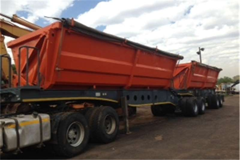 Trailers Afrit Side Tipper TUBMASTER INERLINK 2009