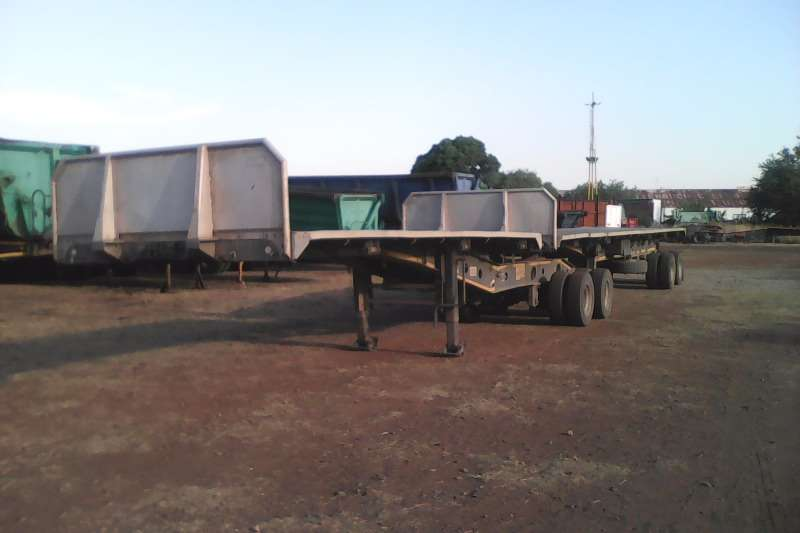 Afrit Superlink Light Weight Superlink Flatdeck Trailers