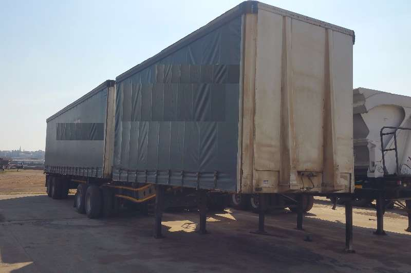 Trailers Afrit Tautliner Tautliner Superlink 2008