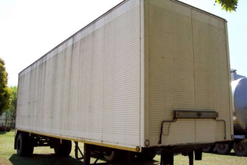 BARKIT Single Axle Box Body Trailers