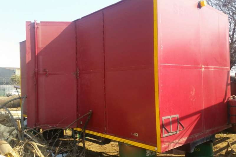 Basset Service container to fit 4-7 ton truck Trailers