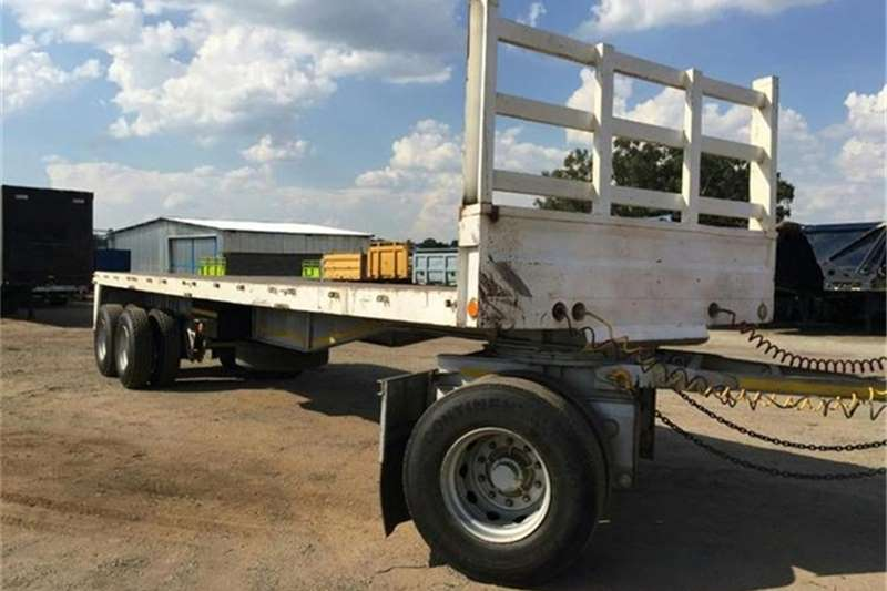 Trailers BDJ Drawbar BDJ Bodies F/Deck Drawbar 1993