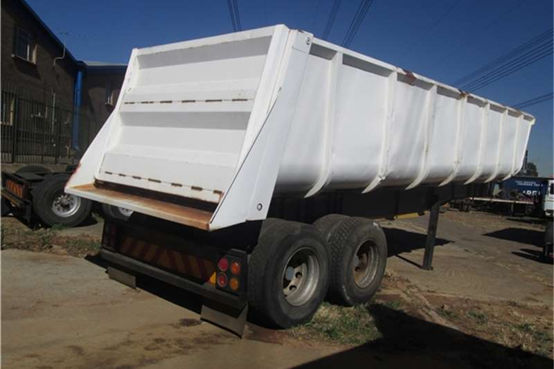Burg 32cubic Slopper Tipper Trailers