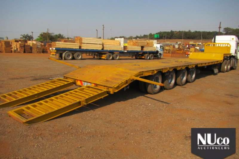 Busaf BUSAF 4 AXLE SEMI STEP DECK LOWBED WITH RAMPS Trailers
