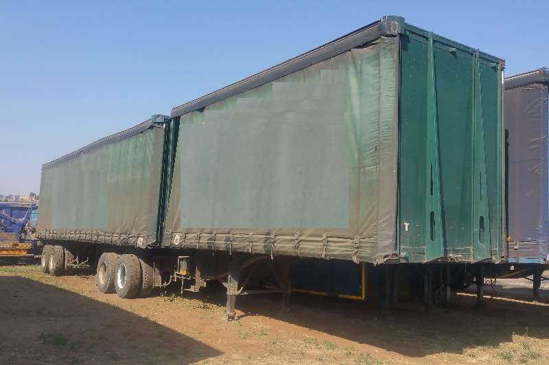 Busaf Tautliner Curtain side Trailer Trailers