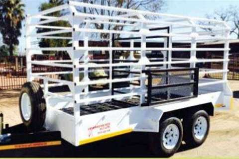 Trailers Cattle Trailer 4m L x 1.8m W x 1.7m H- 0