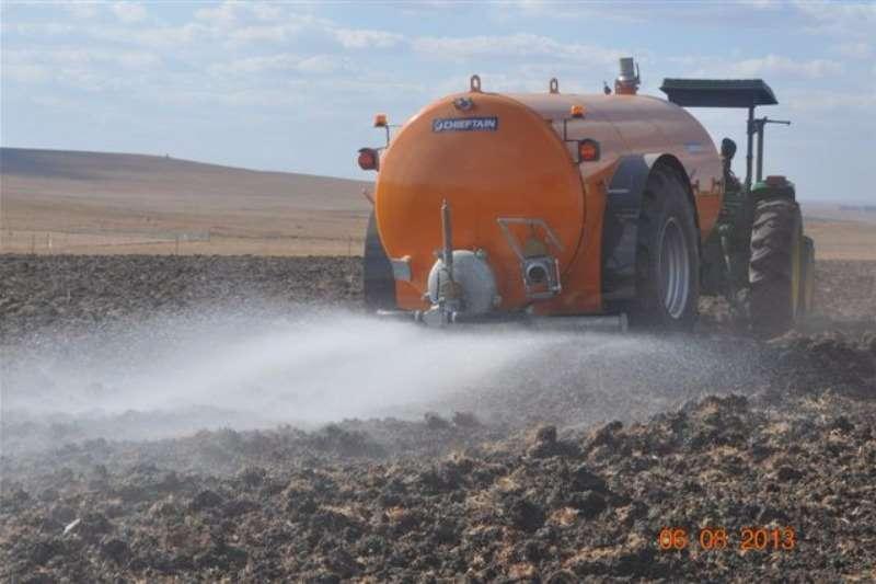 Chieftain Water tanker 11000L Water / Slurry Tanker Trailers