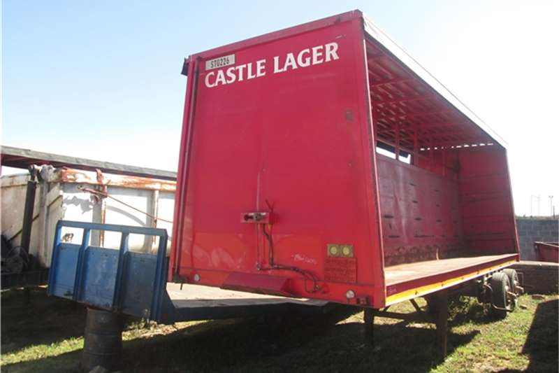 Trailers CTS 7.3m Beverage Tautliner  1983
