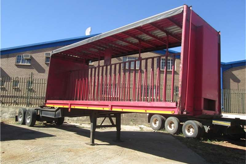 CTS 7.3m Beverage Tautliner  Trailers