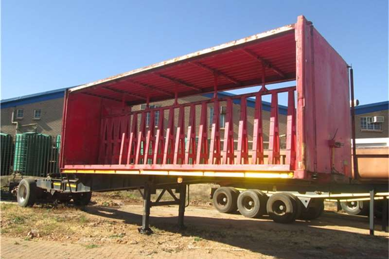 CTS Curtain side 7.3m Beverage Tautliner  Trailers