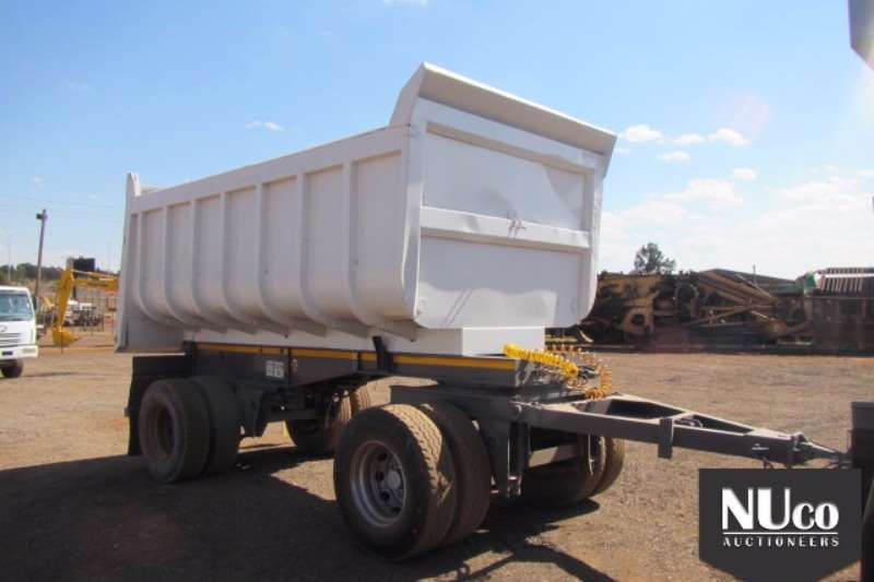 CTS End tipping CTS 14000kg Dra Bar Trailer #CTS810432 Trailers