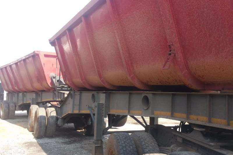 CTS Side tipper 40 Cube Trailers