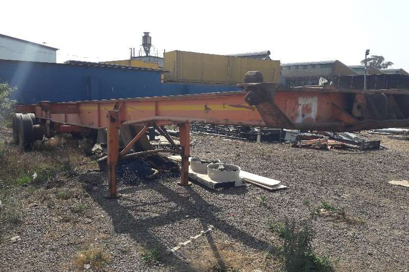 Double axle Used 12m Double Axle Trailer Available Trailers