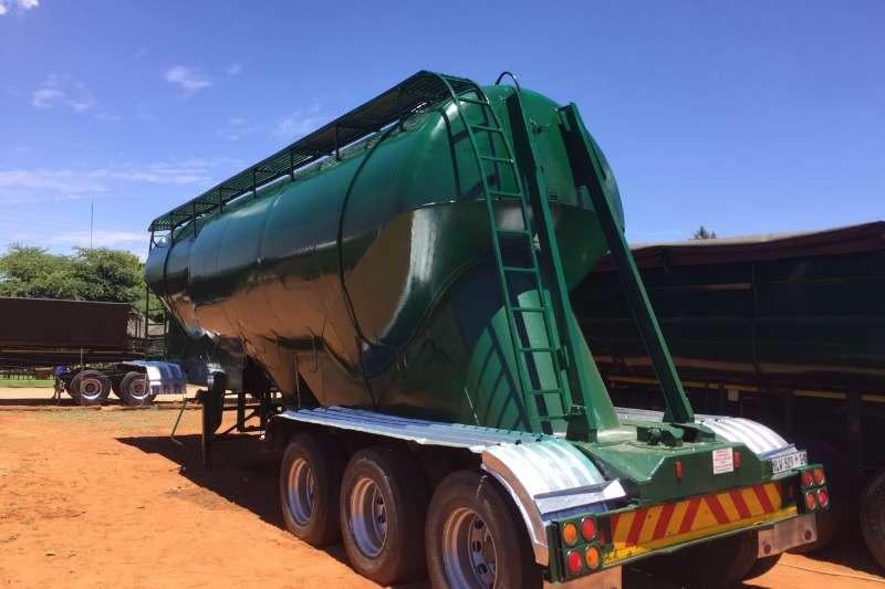 ETE Dry goods van 65 000lt Dry bulk Tanker Trailers