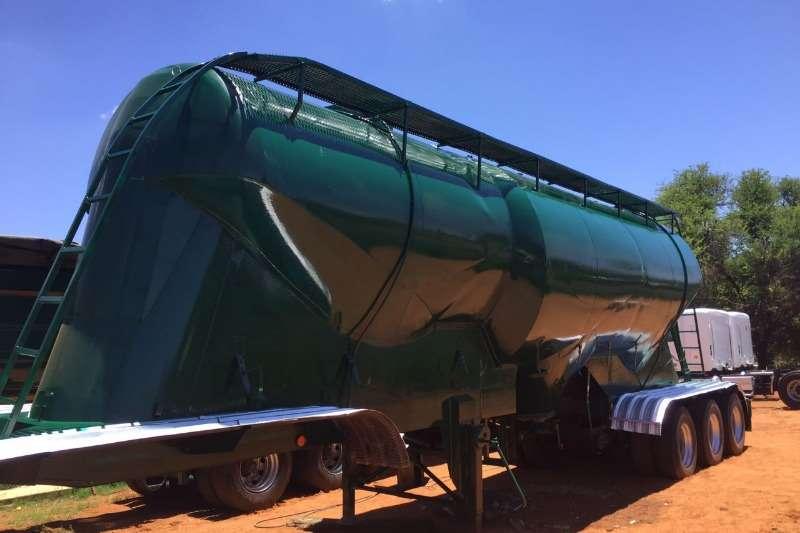 Trailers ETE ETE Drybulk tanker tri axle 56 000lt 1995