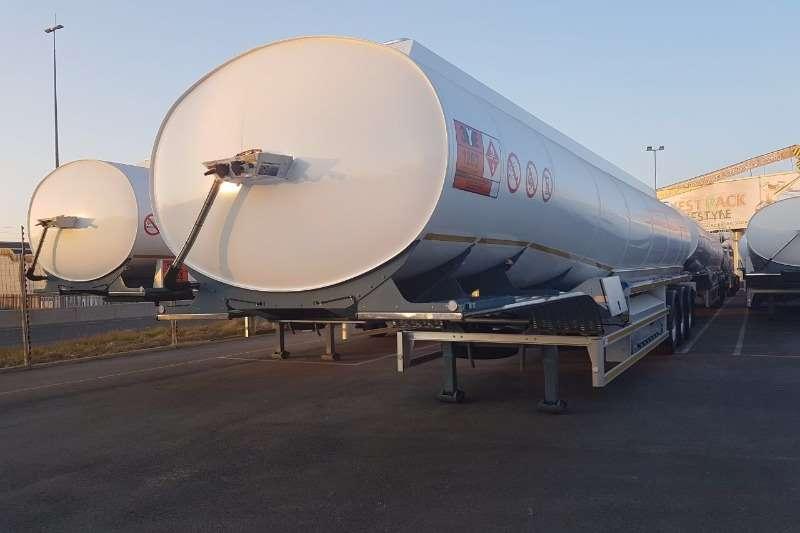 GRW Alluminium tanker GRW 50,000L Fuel Tanker with meters Trailers
