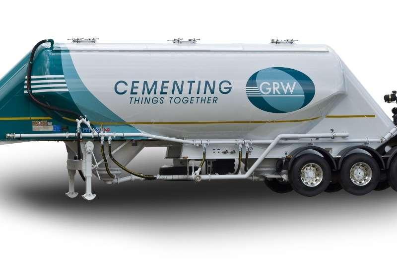 GRW Pneumatic bulk trailer Tridem 40m ³ Pneumatic Bulker Std. Trailers