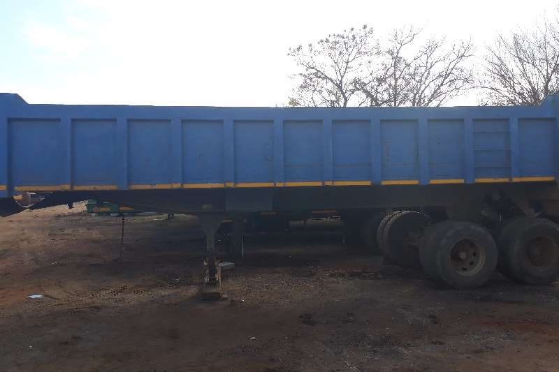 Hendred 20m D/Axle End Trailer Trailers