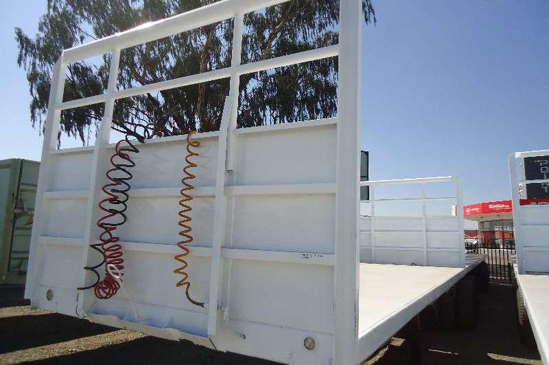Hendred Flat deck 6x12 m flatdeck superlink trailer Trailers