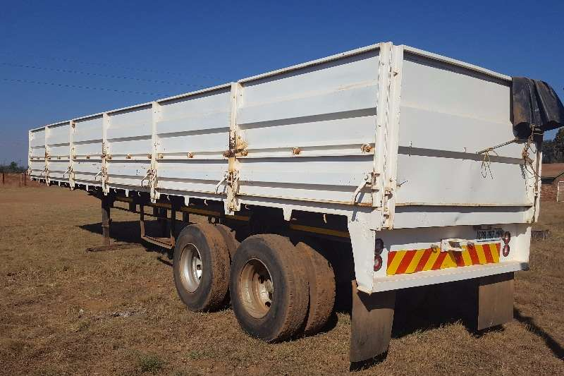 Hendred HENRED Double Axle Mass Side Trailer  12 M POA Trailers