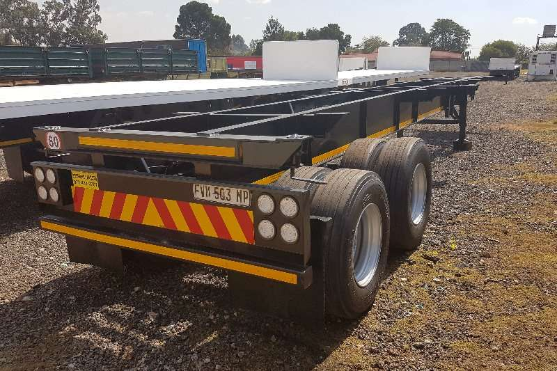 Hendred Skeletal 12m double axle Trailers
