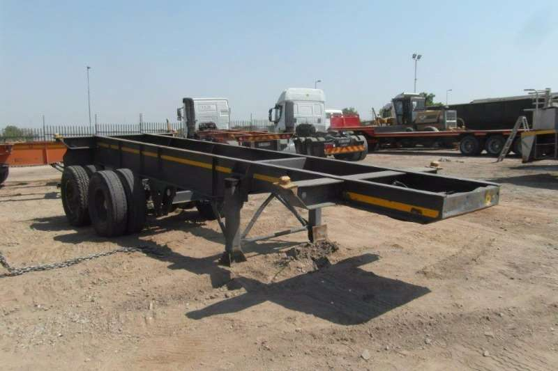 Trailers Hendred Skeletal Double Axle Skeletal Trailer 0