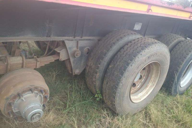 Hendred Tri Axel Trailers