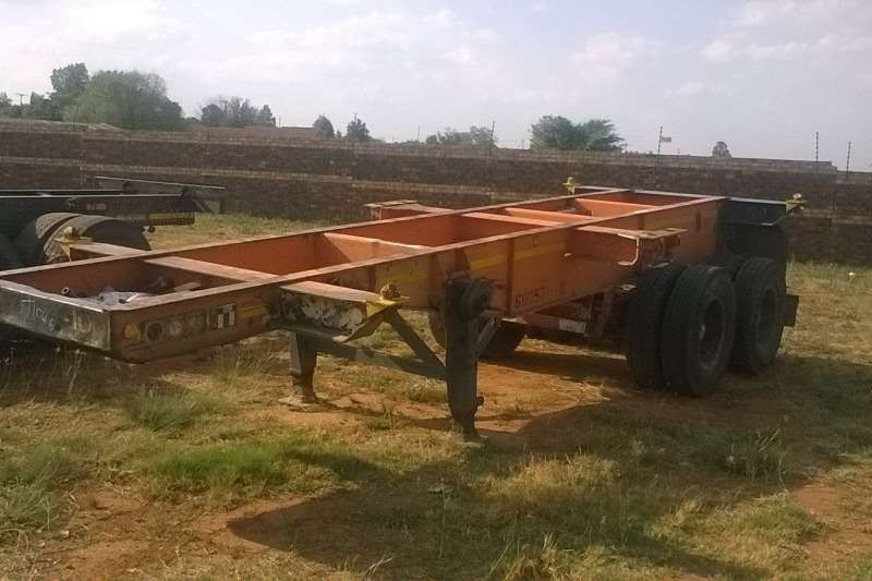 Trailers Henred 6m Skeletal Trailer 0