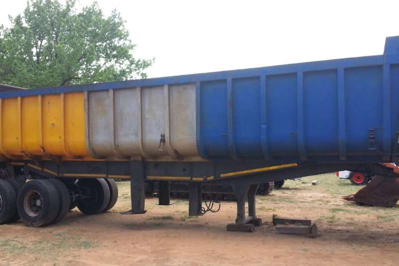 Henred Copelyn Back End Tipper Trailers