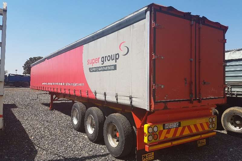 Henred Curtain side 14.5M TRI-AXLE Trailers