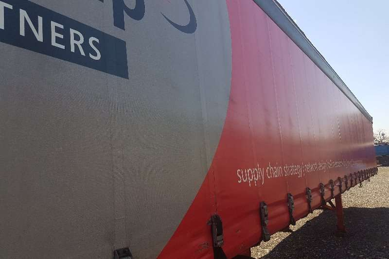 Henred Curtain side 2008 HENRED 14.5M TRI-AXLE TAUTLINER TRAILER Trailers