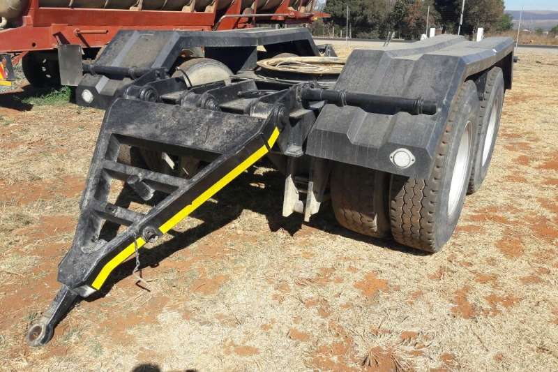 Henred Dolly Used Henred Fruehauf Double Axle Dolly Available Trailers