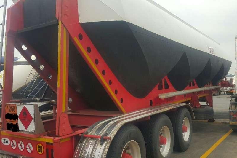 Henred Dry bulk tanker 50 Cube Trailers