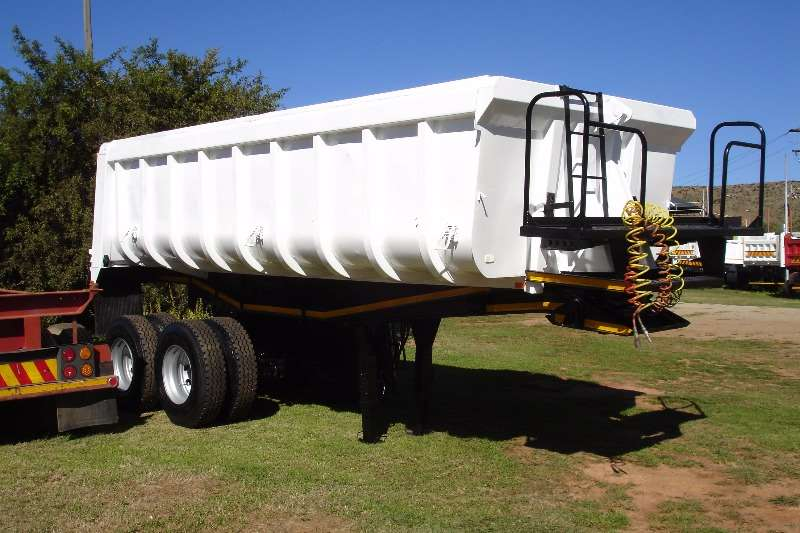 Henred End tipping Copelyn End Tipper Trailers