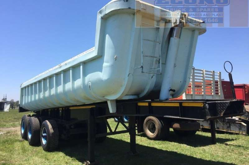 Henred End tipping End Tripping Trailer Trailers