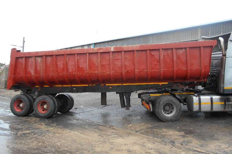 Henred End tipping Henred Copelan End Tipping 30 Kub Trailers